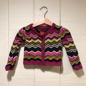 Missoni for Target toddler sweater